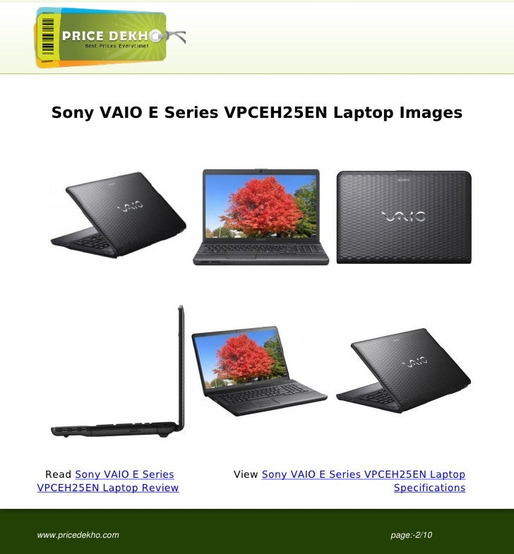 Sony vaio e series vpceh25en all drivers free download.
