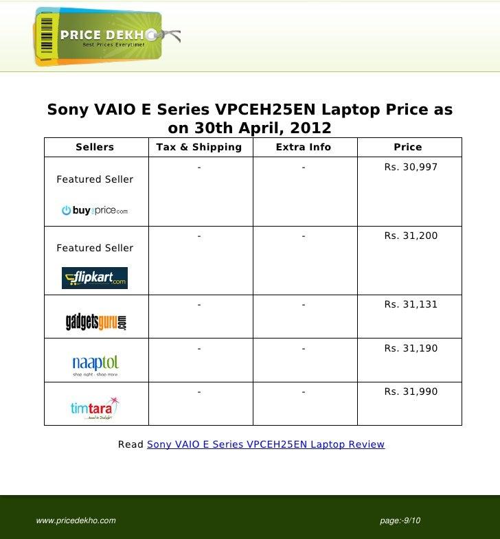 Sony vaio vpceh25en graphics driver download.
