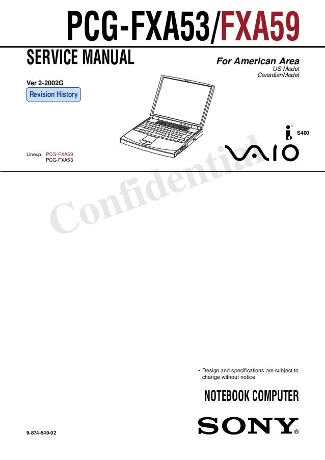 sony vaio repair manual rh slideshare net sony vaio vgn-z series disassembly/assembly service manual Sony Vaio Z Co