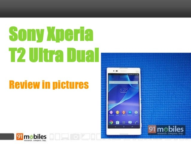 Sony Xperia T2 Ultra Dual Review in pictures