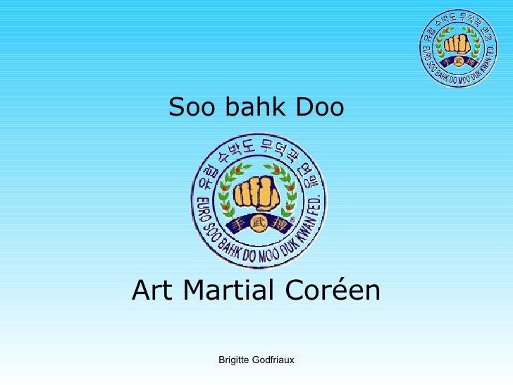 Soo bahk Doo Art Martial Coréen