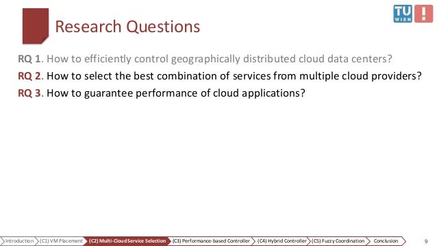 Quality Of Service Control Mechanisms In Cloud Computing