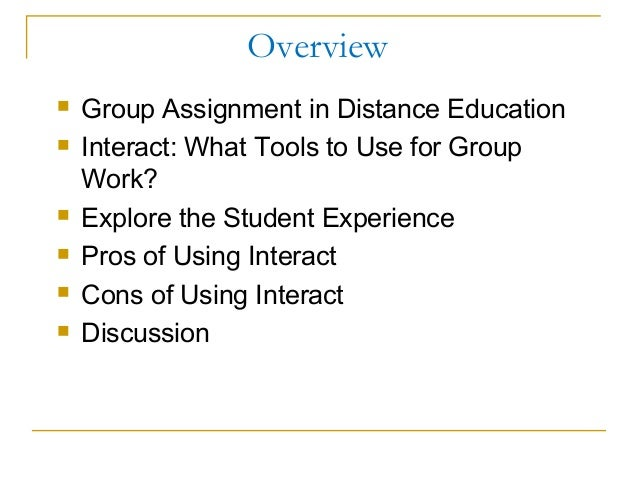 Study skills for distance learning assignment