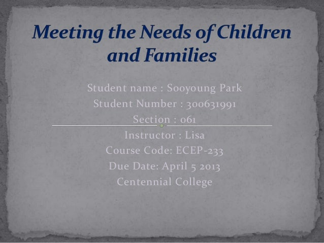 Student name : Sooyoung Park Student Number : 300631991        Section : 061      Instructor : Lisa   Course Code: ECEP-23...