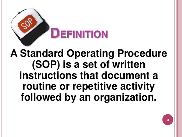 What Is Sop How To Write Standard Operating Procedures Ecommerce