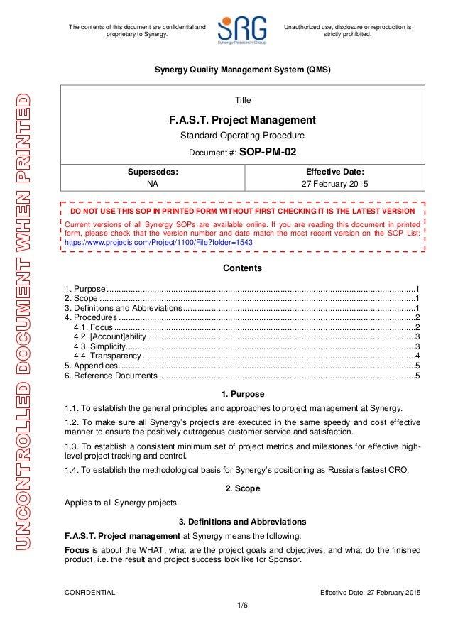 sop pm02 fast project management v1signed