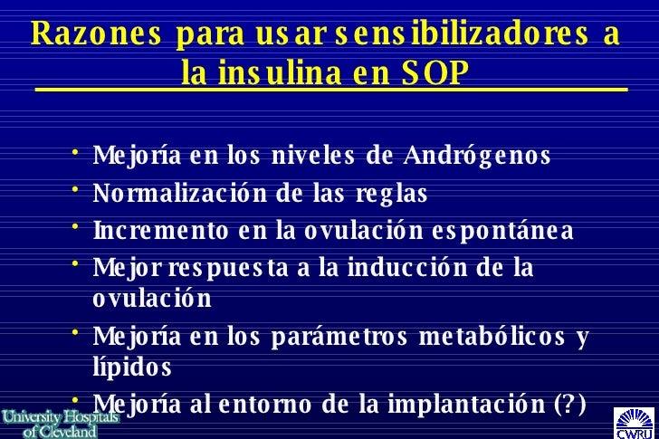 Sop Y La Insulina