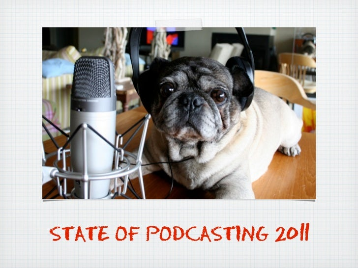 STATE OF PODCASTING 2011