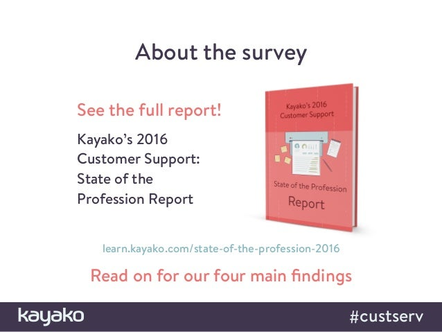 Four Revealing Insights into the Customer Support Industry for 2016 Slide 3