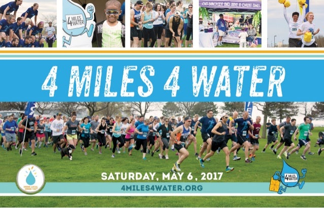 4 Miles 4 Water - 2017 Sponsorship Opportunities