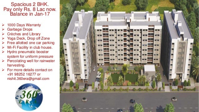 Spacious 2 BHK. Pay only Rs. 8 Lac now. Balance in Jan-17  1000 Days Warranty  Garbage Drops  Crèches and Library  Yog...