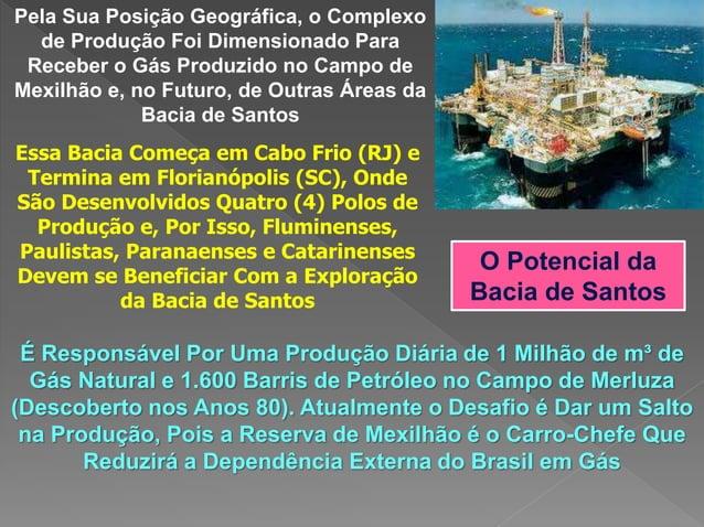 Pela Sua Posição Geográfica, o Complexo de Produção Foi Dimensionado Para Receber o Gás Produzido no Campo de Mexilhão e, ...