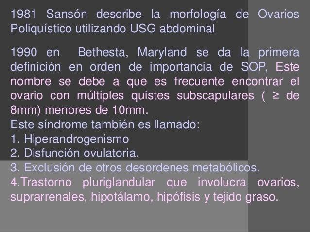 sindrome de ovarios poliquisticos medicos integrales