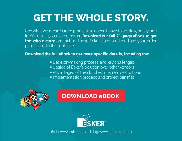 5 Amazing Esker Sales Order Processing Automation Launches