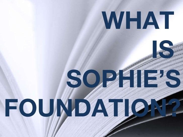 Sophie 2 Overview 2 Slide 2