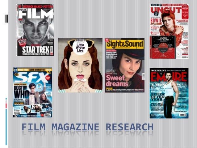 FILM MAGAZINE RESEARCH
