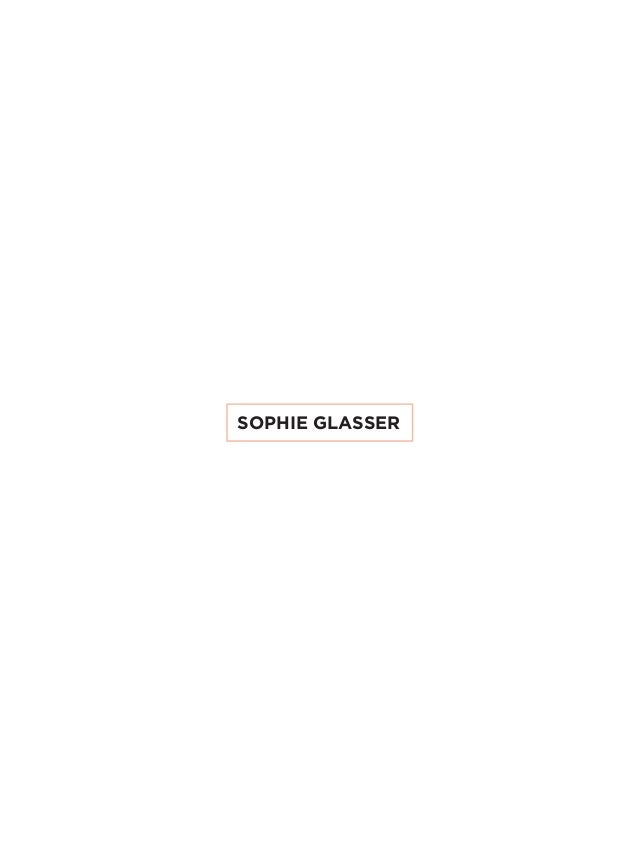 SOPHIE GLASSER