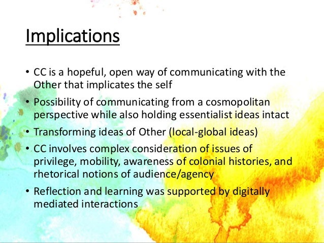 II. Main features and experiences of globalization