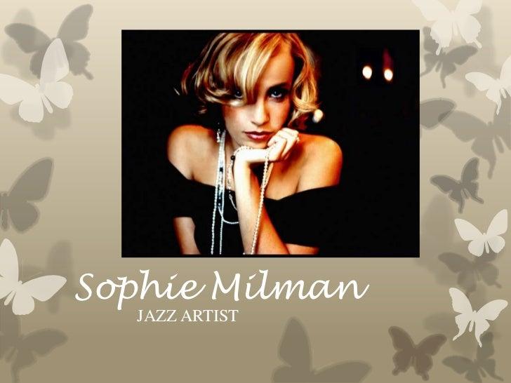 Sophie Milman<br />JAZZ ARTIST<br />