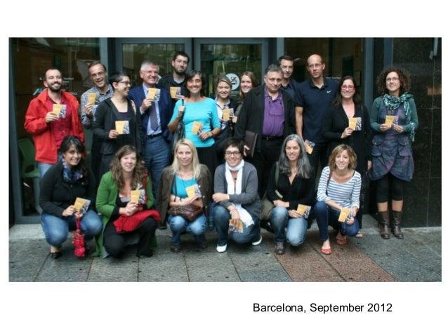 Barcelona, September 2012