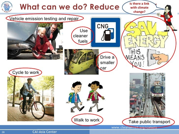 what can be done to reduce air pollution essay High school english essays: next as exhaust fumes from vehicles contribute greatly to air pollution efforts to reduce pollution will be more effective.