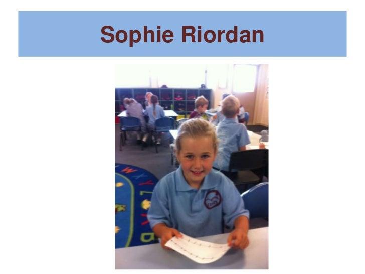 Sophie Riordan