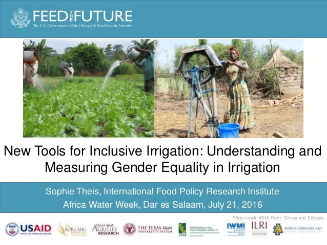 Sophie Theis: New approaches for Inclusive Irrigation Slide 2