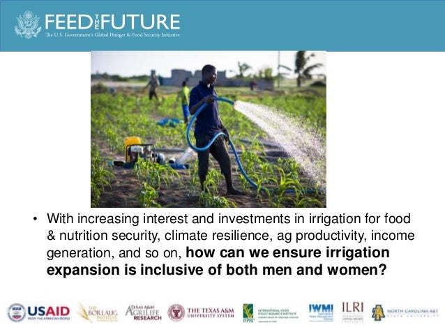 Sophie Theis: New approaches for Inclusive Irrigation Slide 3
