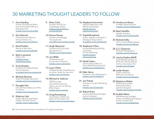 51 Why Does My Company Need a Thought Leadership Strategy? LinkedIn members number more than 313+ million professionals. T...