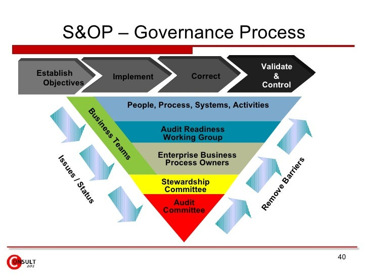 40 sop governance process