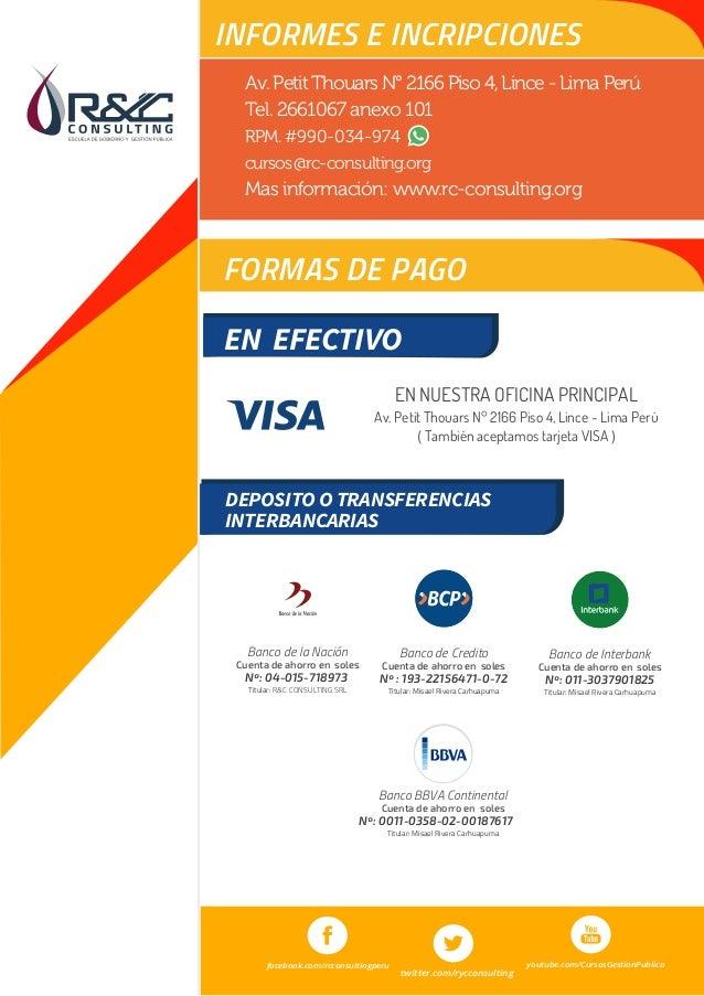 Curso soporte t cnico del siaf mef for Banco continental oficina principal
