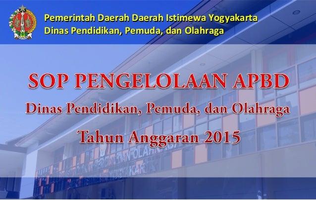 PemerintahPemerintah DaerahDaerah Daerah Istimewa YogyakartaDaerah Istimewa Yogyakarta Dinas Pendidikan, Pemuda, dan Olahr...