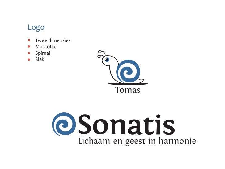 Logo Twee dimensies Mascotte Spiraal Slak                          Tomas                  Sonatis                  Lichaam...