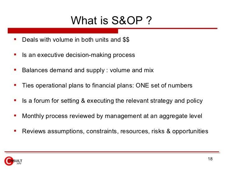 SOp Process