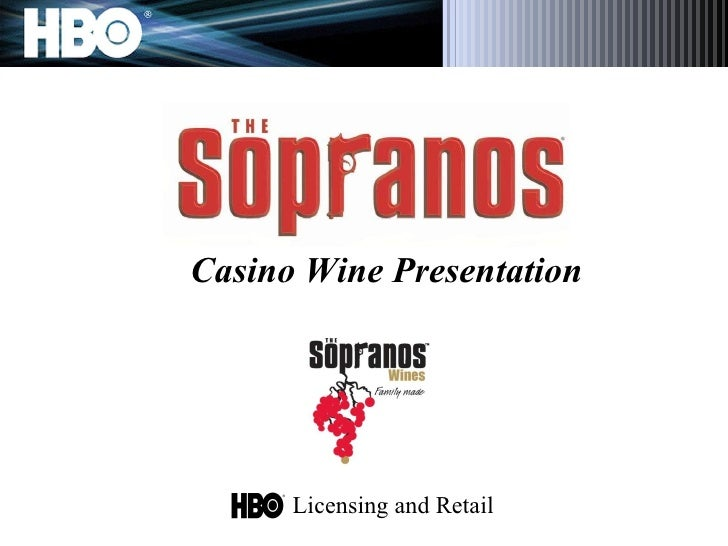 Casino Wine Presentation Licensing and Retail