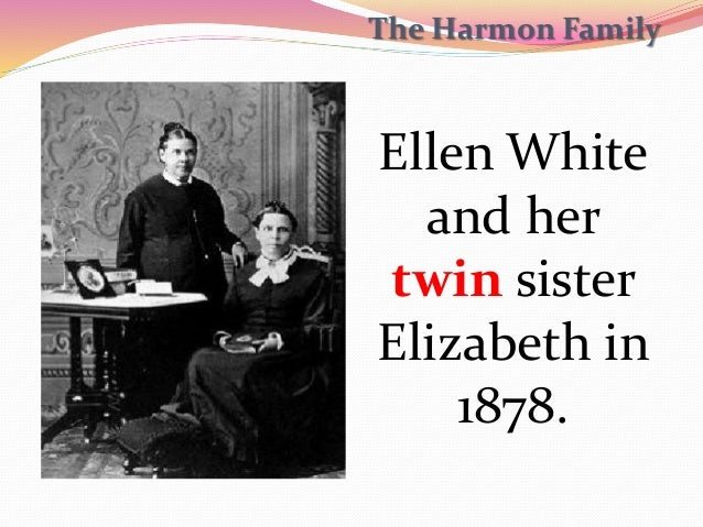 Image result for ellen white and her twin