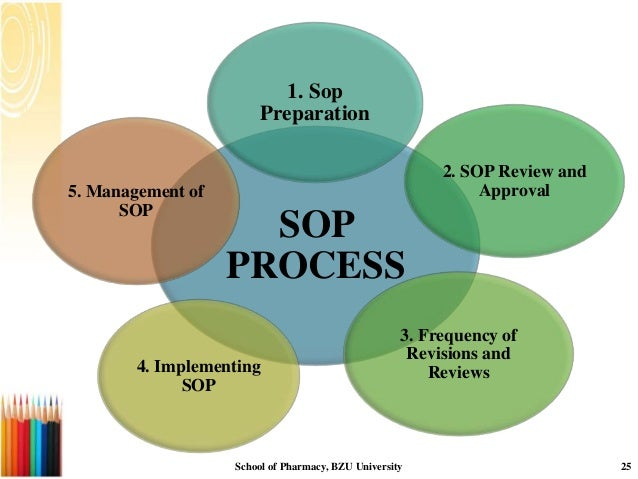 How To Prepare A Sop Format Format Of Sop For Film School Format Of