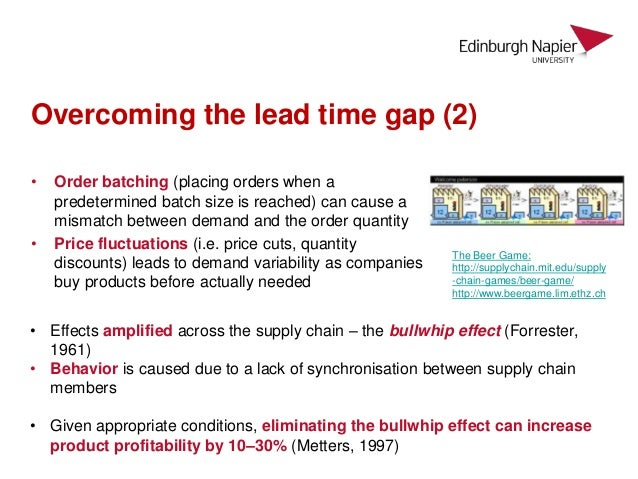 littlefield batch size lead time About littlefield littlefield  o contract 1 – lead time 7 – 14 days- max revenue  750$ o contract 2  reduced the batch size to six (ie lot order of 10) [day 120.