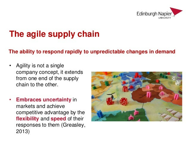 understanding agile supply chain management in Understanding read & react  deep expertise in supply chain management supported by strong analytics  agile supply chain zara case studypdf.