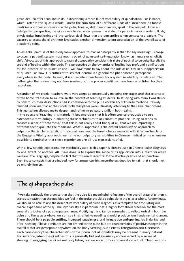 Text Analysis Essay  Tirevifontanacountryinncom Revised Essay Shape Of Qi Charles Chace Revised Essay Best Creative  Text Analysis  Essay High School Senior Essay also Sample Business School Essays  Ap English Essays