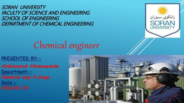 Chemical Engineer – Chemical Engineering Job Description