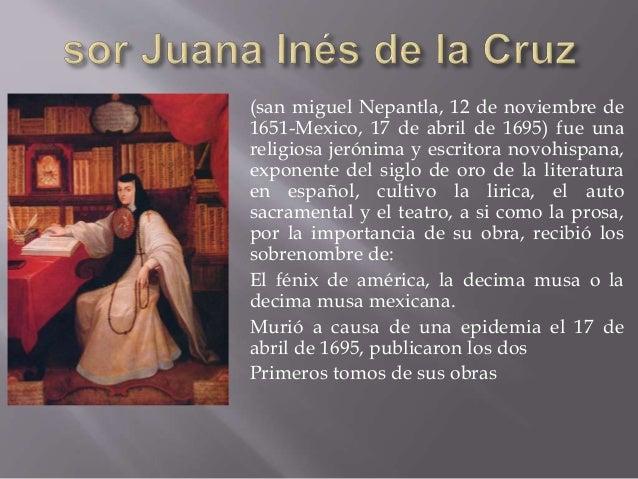Sor juana ines de la cruz - Muere el abuelo de la casa de empenos ...