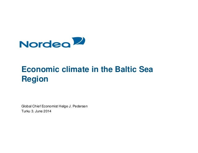Launch of 2014 State of Baltic Sea Region Report Slide 2