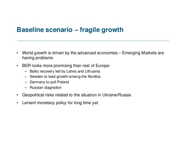 Launch of 2014 State of Baltic Sea Region Report Slide 3