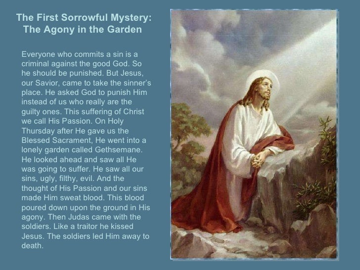 Sorrowful Mysteries of the Rosary Novena