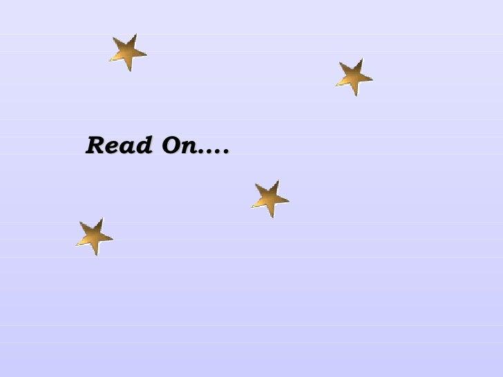Read On….