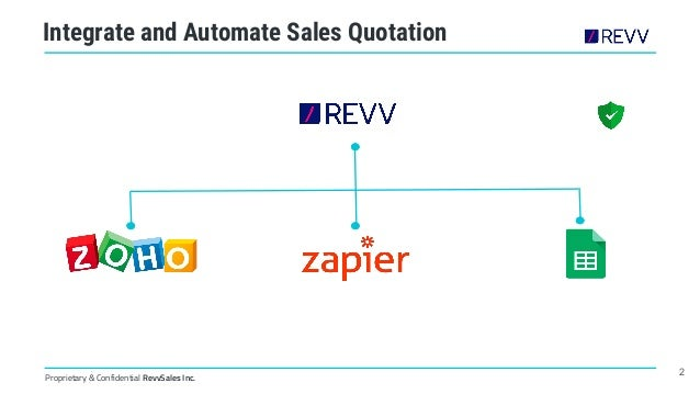 How to Automate Sales Quotes through Business Apps Integration? Slide 2