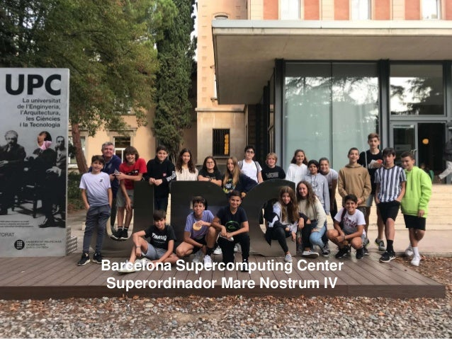 Barcelona Supercomputing Center Superordinador Mare Nostrum IV