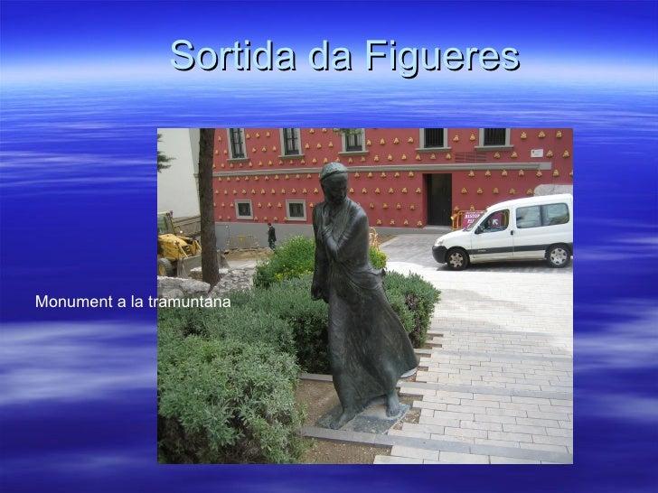 Sortida da FigueresMonument a la tramuntana
