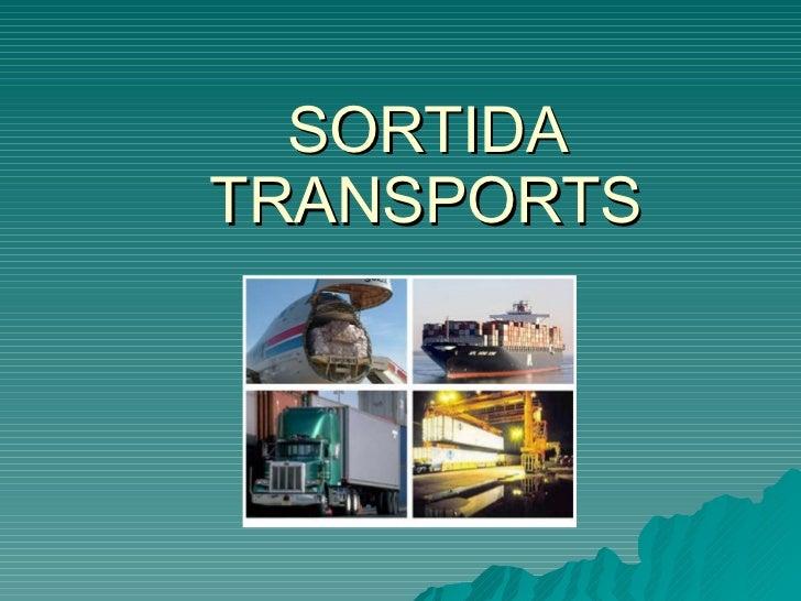 SORTIDA TRANSPORTS